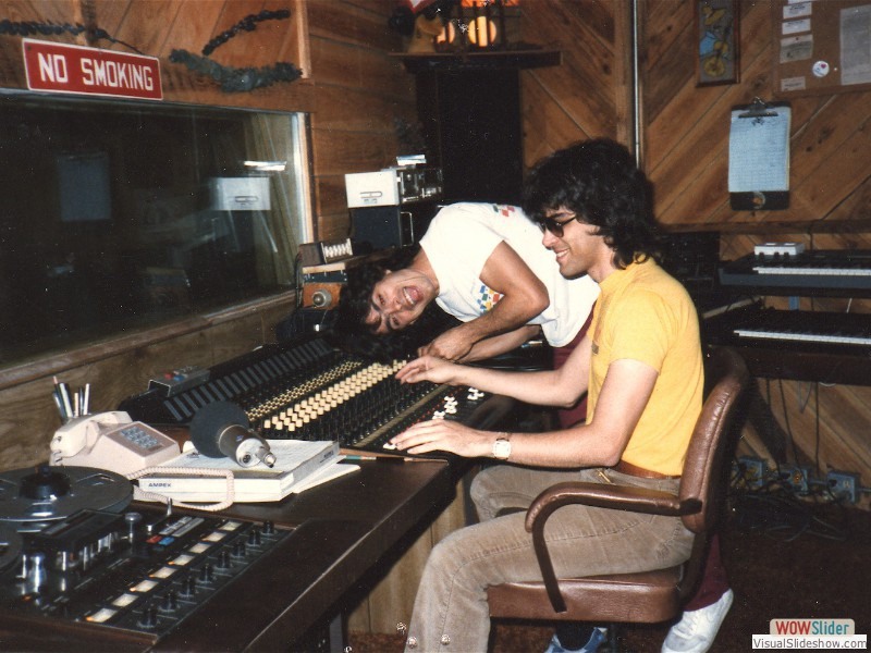It started in 1981 (Thomas Anthony and Scott Taylor at the console)